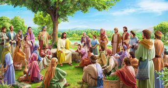010-主耶稣在约旦河边讲道-162025-min