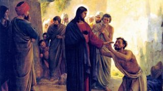 Healing of the Blind Man by Jesus Christ-2